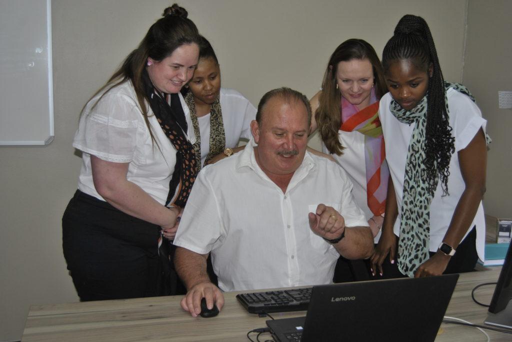 staff doing company tax